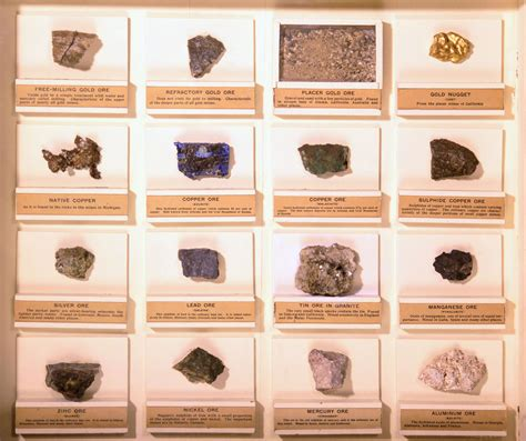 common metal ores of illinois fossils rocks and