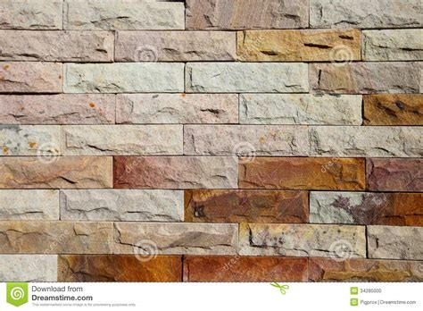 modern brick wall modern brick wall surfaced stock photo image 34285000