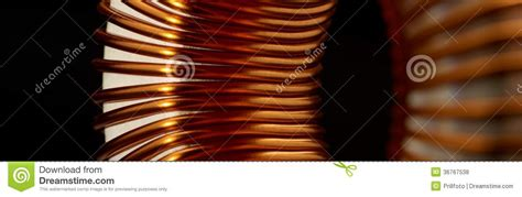 inductor in detail inductor detail royalty free stock photos image 36767538