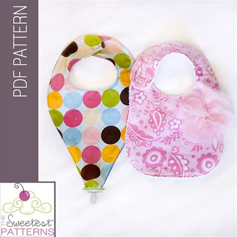 pattern etsy price items similar to binky pacifier bib pdf sewing pattern and
