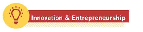 Mba Colleges For Entrepreneurship by Innovation And Entrepreneurship Robert H Smith School