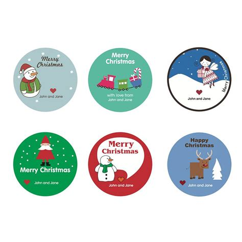 to do stickers children s personalised christmas stickers by rock paper