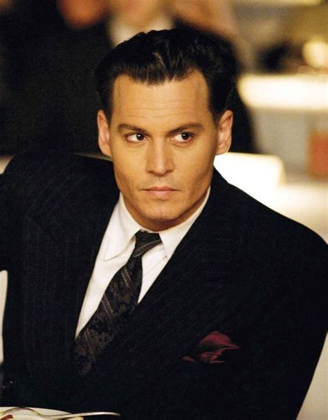 small biography johnny depp johnny depp as john dillinger in public enemy sporting a