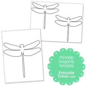 dragonfly template printable dragonfly template printable treats