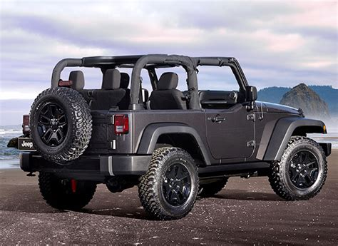Consumer Reports Jeep Wrangler 2014 Jeep Wrangler Willys Wheeler Edition La Auto Show