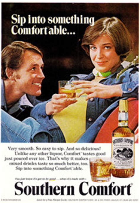 where does southern comfort come from the state of chick drinks or so it s come to this