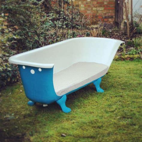 recycled bathtubs diy outdoor seating ideas decozilla