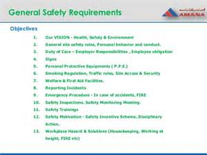 Home Design Do S And Don Ts session 2 general safety requirements