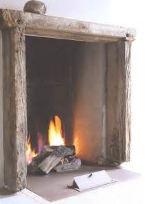 kamin rustikal rustic fireplace winter