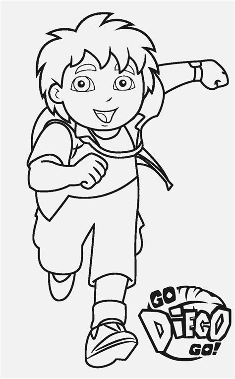 diego coloring pages free printable diego coloring pages for cool2bkids