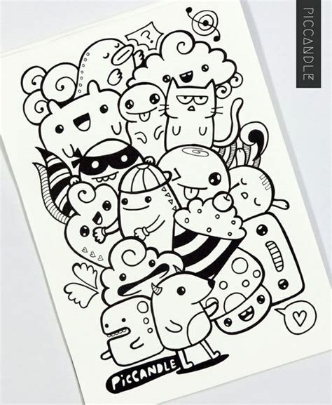 doodle easy name doodle characters buscar con doodles