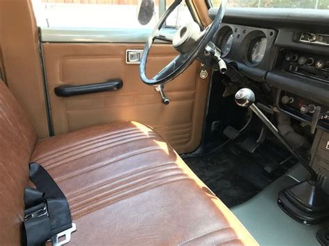 classic land cruiser interior 1971 toyota land cruiser fj55 freshly built new paint