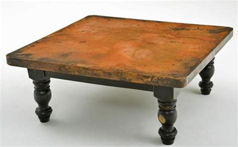 clark copper coffee table coffee tables ideas admirable hammered copper coffee