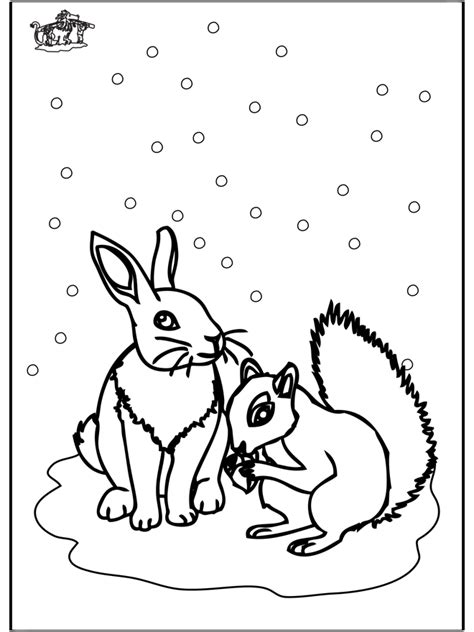 free coloring pages animals in winter winter animals coloring pages az coloring pages winter