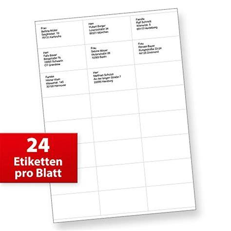 Adressaufkleber Drucken Post by Fix Adressaufkleber 70 X 36 Mm 1 200 St 252 Ck Auf 50 Blatt