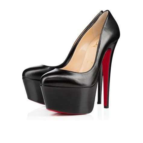 Christian Louboutin Platform Heels by Christian Louboutin Printed Platform Pumps Louis Vuitton