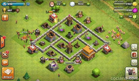 coc layout guide clash of clans base building tips for beginners coc land
