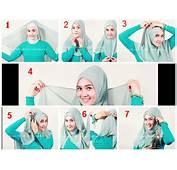 Tutorial Hijab Segi Empat Untuk Wajah Bulat  Wwwimgkid