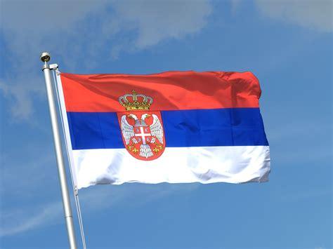 drapeau serbie drapeau serbie avec blason 90 x 150 cm m drapeaux