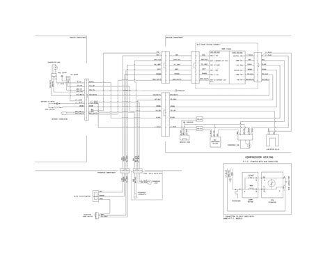 frigidaire refrigerator parts diagram frigidaire refrigerator parts model fftr2131qp0 sears