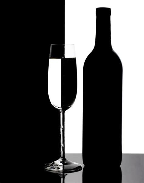 wine silhouette wine silhouette by tom mc nemar