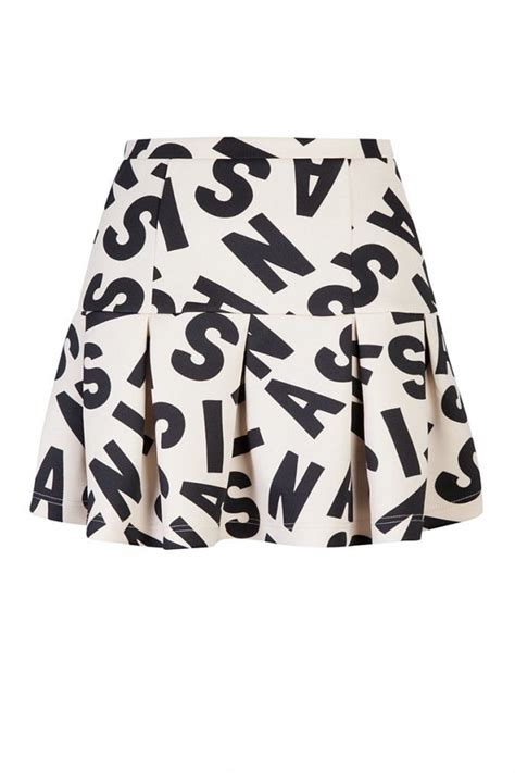 B Uniko Skirt Mr typo skirt one of our favourites from the collaboration