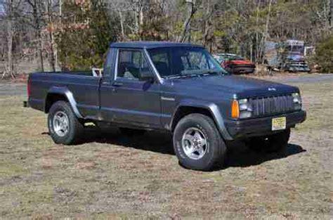 1988 jeep comanche pioneer find used 1988 jeep comanche pioneer 4x4 auto shortbed in