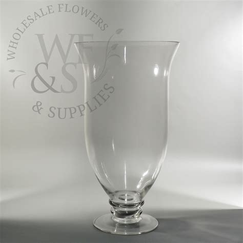 Wholesale Hurricane Vases by Footed Hurricane Vase 16 Quot Wholesale Flowers And