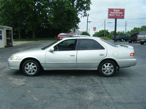 2000 Toyota Camry Mpg 2000 Toyota Camry Used Cars For Sale Carsforsale