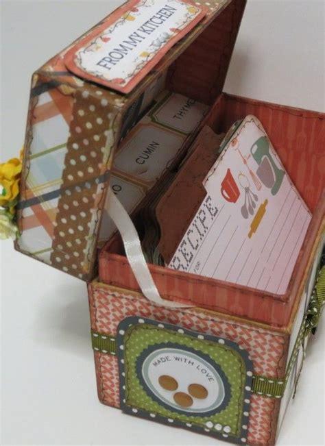 tutorial scrapbooking recetario tutorial caja recetario por esmeralda alterados