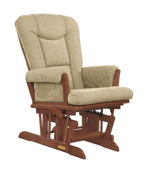 shermag reclining glider shermag sleigh style reclining glider with locking