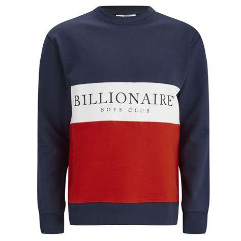gravy boat crew neck sweatshirt billionaire boys club men s break cut and sew crew neck