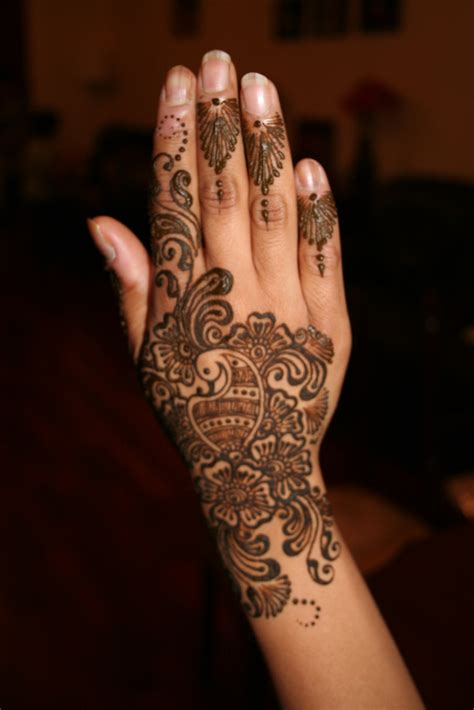 Arabic Henna Design Easy | mehndi designs for hands easy arabic mehndi designs for