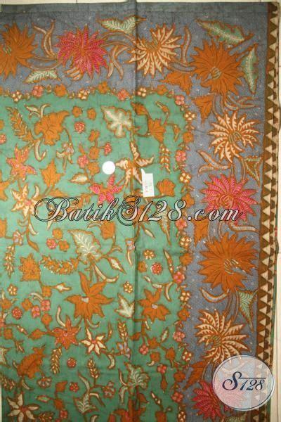 Kain Batik Sogan Jawa Premium 002 toko kain batik jawa terlengkap di sedia batik tulis premium bahan baju kerja dan pesta