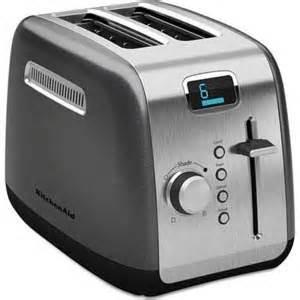 Toaster Bagel Amazon Com Kitchenaid Kmt222qg 2 Slice Toaster With