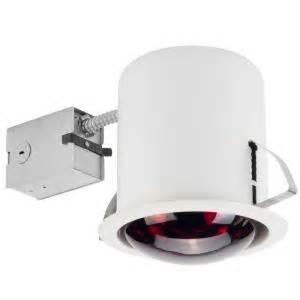 bathroom heat l home depot globe electric 6 in white recessed heat l lighting kit