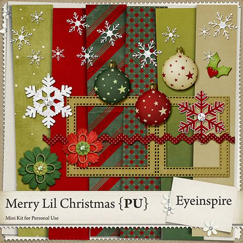 digital downloads for card free digital scrapbook kit merry lil from