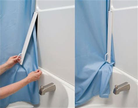 shower curtain clips to wall how to stop your shower curtain from blowing in