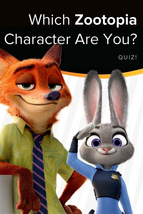 Anime Quiz Buzzfeed by Quiz Which Zootopia Character Are You Disney Animation