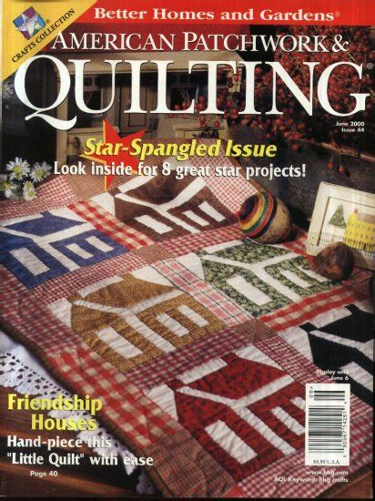 Better Homes And Gardens American Patchwork And Quilting - better homes and garden american patchwork quilting