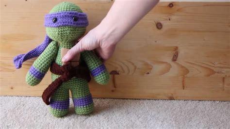 amigurumi ninja pattern free donatello tmnt amigurumi youtube