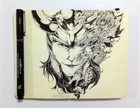 karakter doodle sıradışı ve detaylı karakter 199 izimleri 231 grafiker