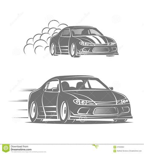 street racing design elements vector race car street car vehicle vector cartoon vector