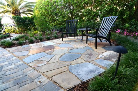 Laid Flagstone Patio by Patios Sitting Areas Patios Outdoor Sitting Areas