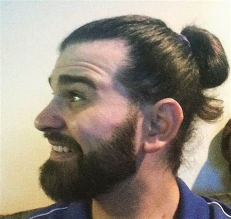 best hipster haircut to start out with the hipster bun a look into the refined manbun man bun