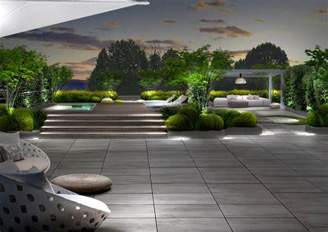 terrazzo zen progetto giardino galleria progetti giardini