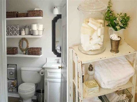 Storage Ideas For Small Bathrooms With No Cabinets Decor