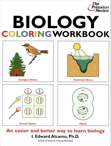 biology coloring book princeton review 17 best images about biology on lesson plans