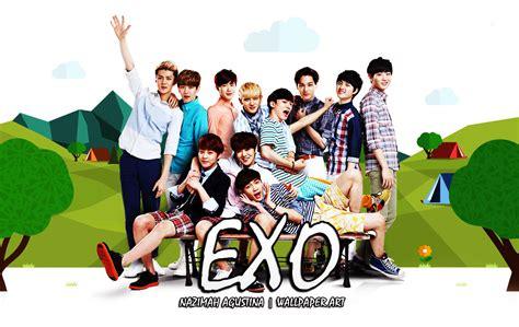 exo nature wallpaper wallpapers happy 3rd anniversary exo agustinazimah