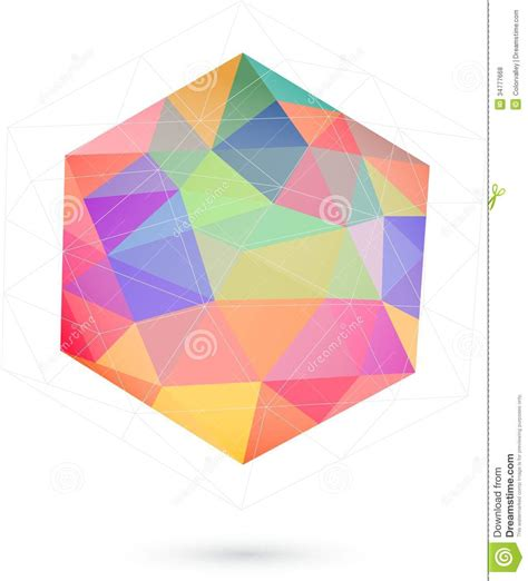 free graphic design stock photo file page 10 colorful icosahedron for graphic design royalty free stock